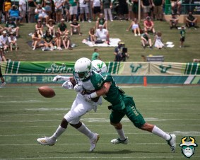 26 - USF WR Zion Roland Bentlee Sanders Spring Game 2019 by David Gold 0542 (4656x3725)