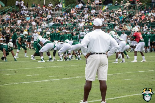 54 - USF Head Coach Charlie Strong Spring Game 2019 by David Gold 0887 (6000x4000)