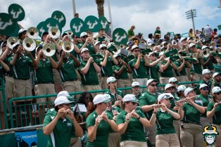 65 - USF Band in stands at Corbett Stadium Spring Game 2019 by Matthew Manuri 1274 (6016x4016)