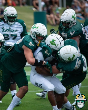 106A - USF RB Johnny Ford Trey Laing AJ Franco Brock Nichols Spring Game 2019 by Matthew Manuri 1387 (6016x4016)