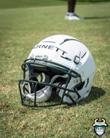 10 - USF QB Blake Barnett Helmet Fall Camp 2019 by David Gold DRG02619