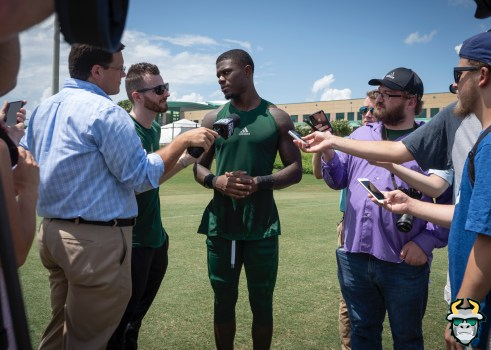 12 - USF DB Mike Hampton Fall Camp 2019 by David Gold DRG02675