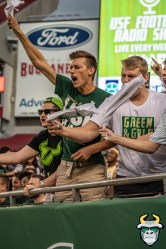 05 – Wisconsin vs USF 2019 – USF Students by David Gold – DRG04524
