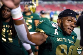 100 - USF vs S.C. State 2019 - Terrance Horne by David Gold DRG01593