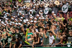 34- USF vs S.C. State 2019 -Student Sectionl by David Gold - DRG00076