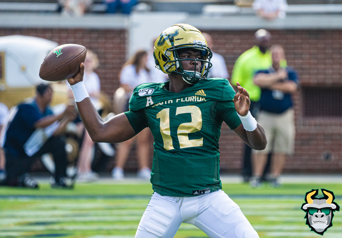 USF QB Jordan McCloud vs Georgia Tech 2019