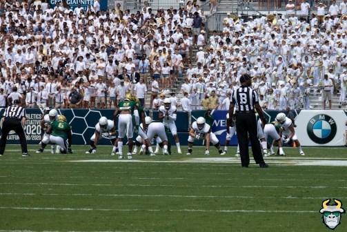 61 - USF vs Georgia Tech 2019 - Devin Studstill Kirk Livingstone Dwayne Boyles Georgia Tech Student Section by Matthew Manuri - IMG_1836
