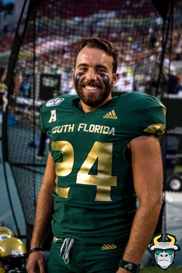 67 - USF vs S.C. State 2019 - Coby Weiss by David Gold DRG00753