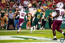 85 - USF vs S.C. State 2019 - Jordan McCloud by David Gold DRG01194