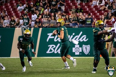 87 - USF vs S.C. State 2019 - Blake Barnett by David Gold DRG01307