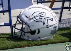 91 - USF vs Georgia Tech 2019 - Georgia Tech Yellow Jackets Helmet by Matthew Manuri - IMG_1850