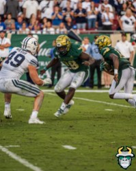 122 - BYU vs USF 2019 - Jordan McCloud Trevon Sands by David Gold - DRG01462