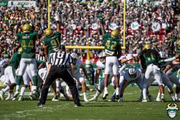 53 - BYU vs. USF 2019 - USF Kick Defense Rashawn Yates Antonio Grier Darius Slade Dwayne Boyles by David Gold - DRG00487
