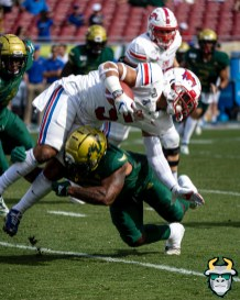 55 - SMU vs USF 2019 - Demaurez Bellamy by David Gold - DRG00555