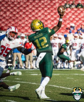 86 - SMU vs USF 2019 - Jordan McCloud by David Gold - DRG01311