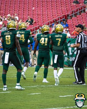 99 - SMU vs USF 2019 - Devin Studstill Patrick Macon Demaurez Bellamy Mike Hampton by David Gold - DRG01622