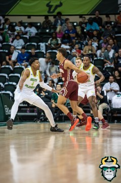 10 - Boston College vs South Florida Men's Basketball 2019 - Michael Durr Laquincy Rideau by David Gold - DRG07882