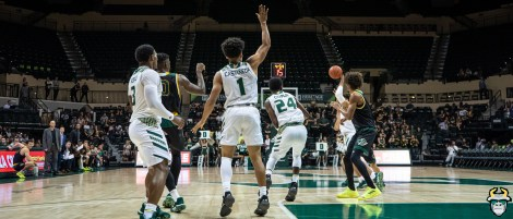 10 - St. Leo vs South Florida Men's Basketball 2019 - Xavier Casteneda Jamir Chaplin by David Gold - DRG02751