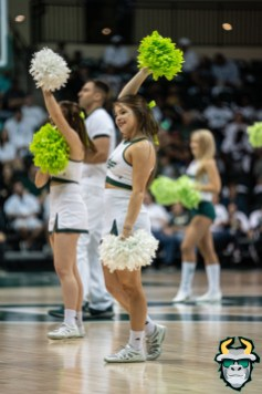 19 - Boston College vs South Florida Men's Basketball 2019 - Co-Ed Cheerleader by David Gold - DRG08320