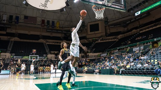 19 - St. Leo vs South Florida Men's Basketball 2019 - Laquincy Rideau by David Gold - DRG02969