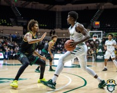 32 - St. Leo vs South Florida Men's Basketball 2019 - Justin Brown by David Gold - DRG03233