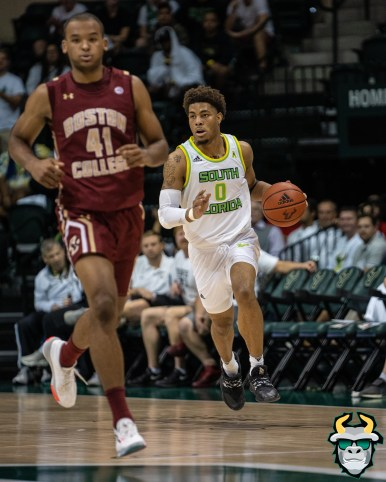 35 - Boston College vs South Florida Men's Basketball 2019 - David Collins by David Gold - DRG08758