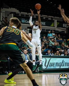 36 - St. Leo vs South Florida Men's Basketball 2019 - Justin Brown by David Gold - DRG03372