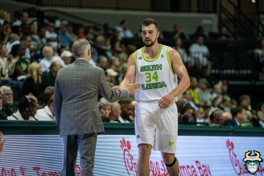 37 - Boston College vs South Florida Men's Basketball 2019 - Antun Maricevic by David Gold - DRG08797