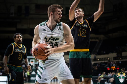 37 - St. Leo vs South Florida Men's Basketball 2019 - Antun Maricevic by David Gold - DRG03391
