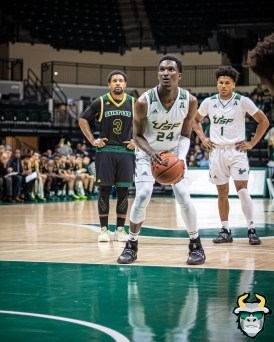 41 - St. Leo vs South Florida Men's Basketball 2019 - Jamir Chaplin by David Gold - DRG03434