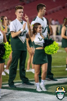 95 - Temple vs. USF 2019 - USF Co-Ed Cheerleaders by David Gold - DRG06659