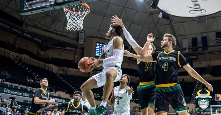 St. Leo vs. South Florida Men's Basketball 2019 Photo Album - G David Collins | SoFloBulls.com
