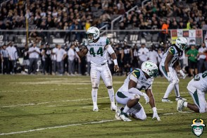 82 - USF vs. UCF 2019 - Antonio Grier Kirk Livingstone Dwayne Boyles by David Gold - DRG06664