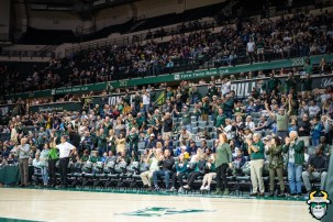 22 - UConn vs. South Florida Men's Basketball 2020 - Bulls Fans in the stands at the Yuengling Center - DRG08984