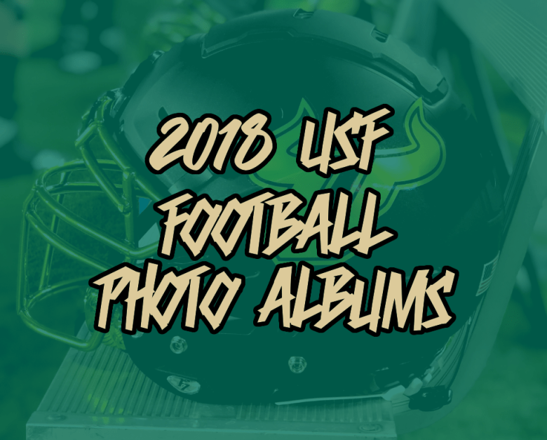 Click to view all 2018 USF Football Photo Albums