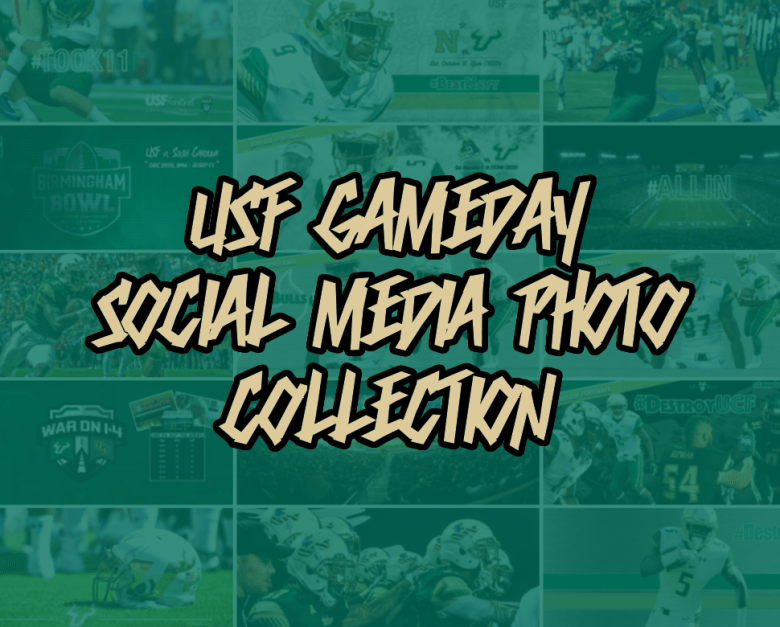 Click to view all USF Social Media & Gameday Edits