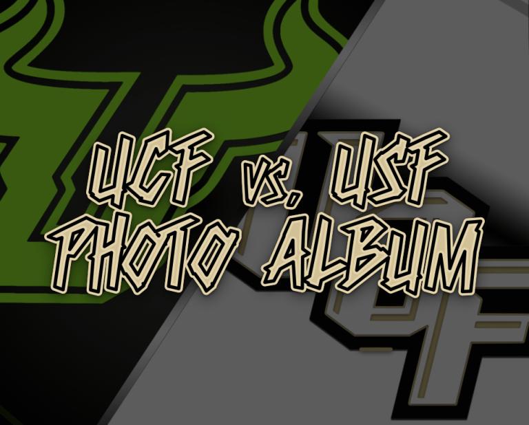 UCF vs. USF 2020 Football Photo Album