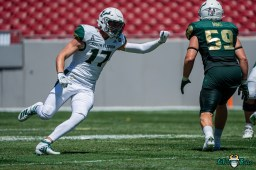 83 - USF Spring Game 2021 TE Holden Willis Andrew Mims DRG07139