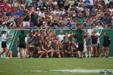 157 Florida vs USF 2021 - USF Women's Soccer Championship Ring Ceremony at Raymond James Stadium DA