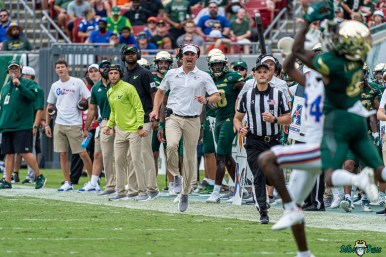 180 Florida vs USF 2021 - Head Coach Jeff Scott DRG02604