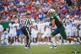 222 Florida vs USF 2021 - Brock Nichols INT DA