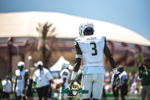 54 - USF Spring Game 2018 - USF WR Darnell Salomon by Dennis Akers | SoFloBulls.com (5986x3996)