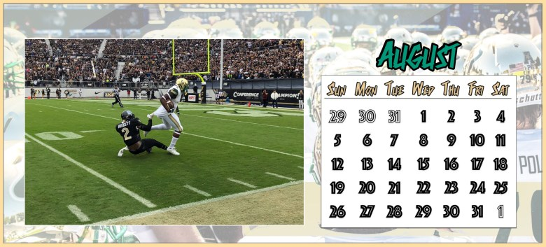📅 For Sale: 2018-2019 SoFloBulls USF Football Calendar