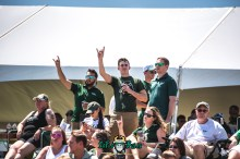 92 - USF Spring Game 2018 - USF Students Enjoying the Game by Dennis Akers - SoFloBulls.com (6016x4016)