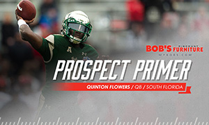 Green Bay Packers Prospect Primer - QB Quinton Flowers, South Florida | SoFloBulls.com