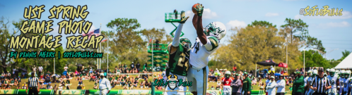 USF Spring Game 2018 Photo Album Montage ReCap Header Image by Dennis Akers | SoFloBulls.com (960x260)