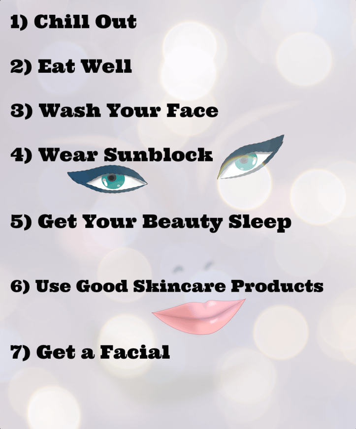 Seven Tips For Glowing Skin