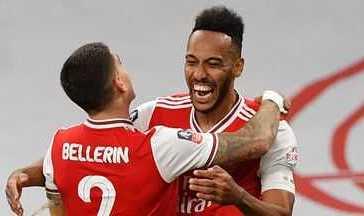 Aubameyang Brace Sealed Arsenal's Passage to FA Cup Final.