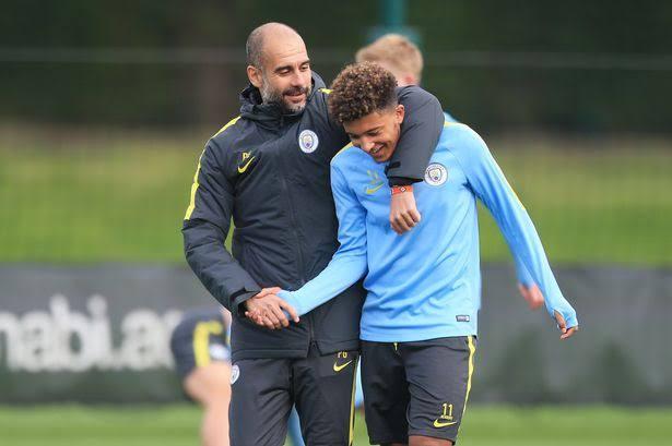 Jason Sancho Return To Manchester City Makes 'No Sense' - Pep Guardiola.