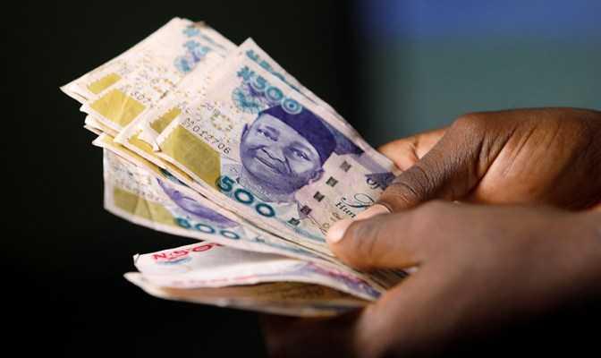 Naira Loses Value to N381/$.